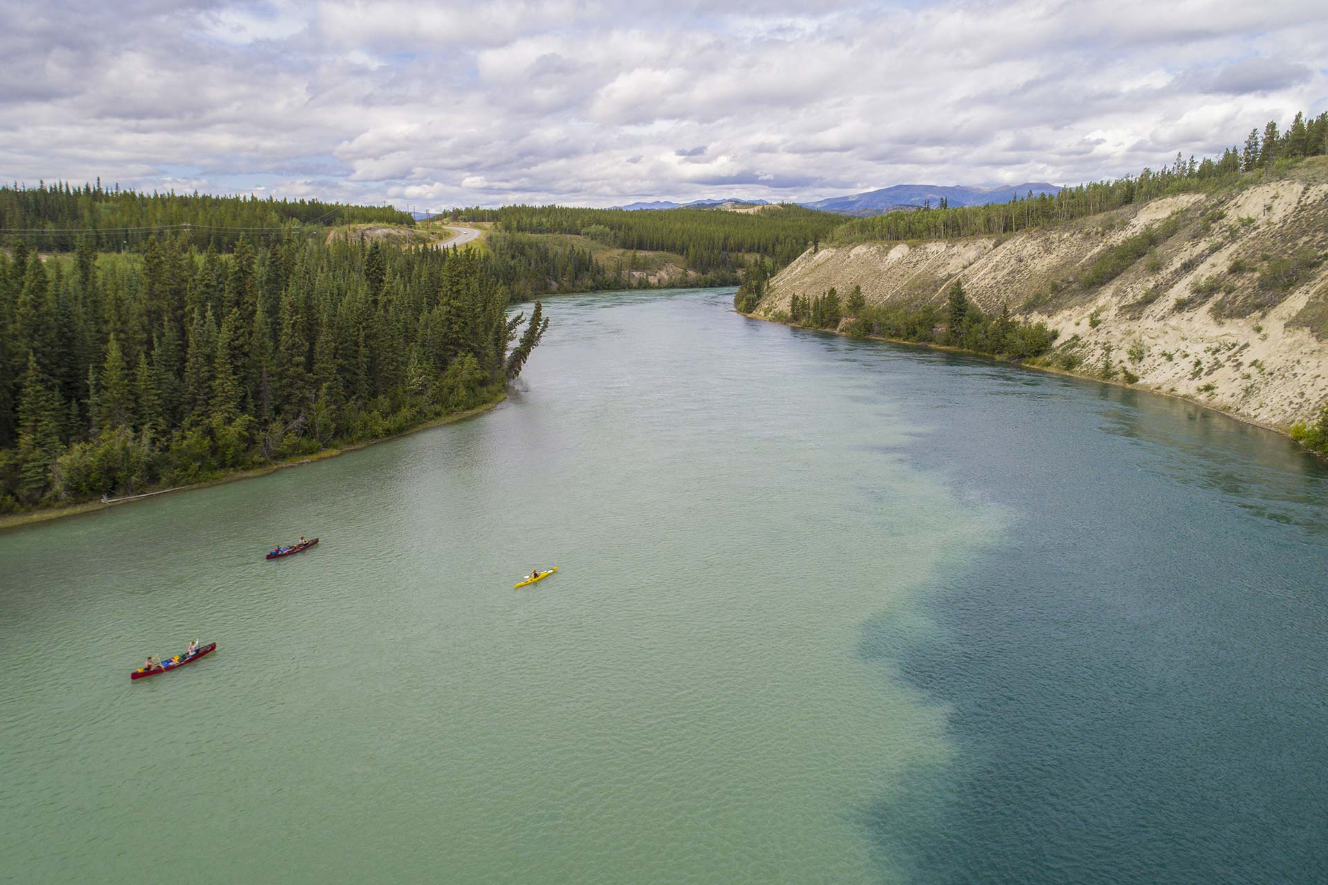 Self-guided canoe trips in the Yukon with all the gear you need.