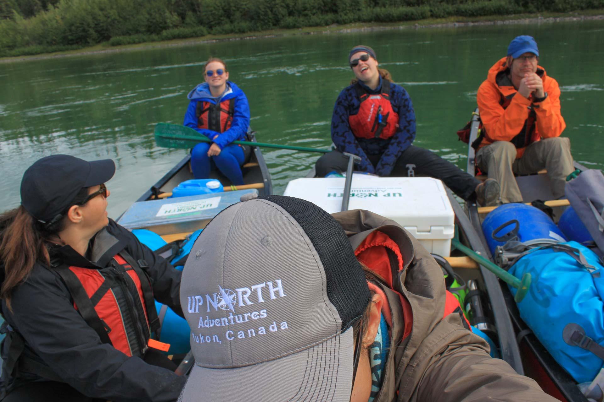 Guided Yukon Canoeing Trips