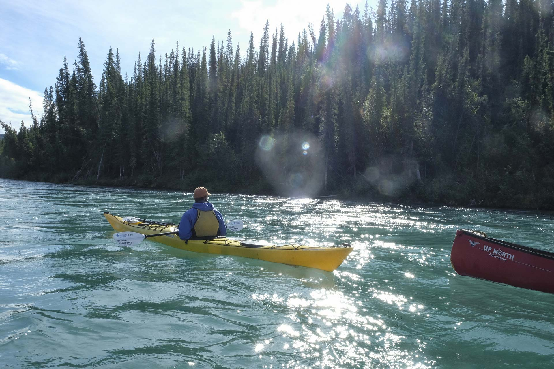 Guided Yukon River Day Tours