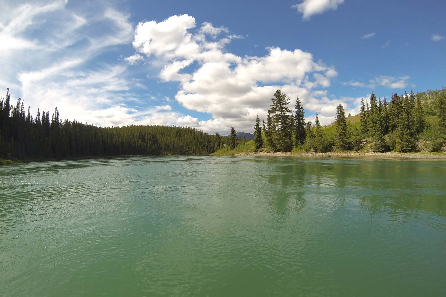 Guided Pelly River Trip