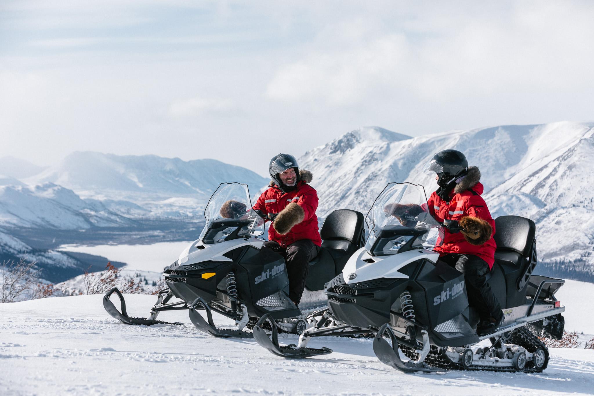 Yukon Snowmobiling Tours